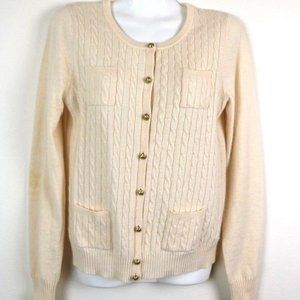 J Crew Womens Cardigan Sweater Wool Nylon Cashmere
